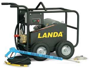 Landa pressure washer owners manual